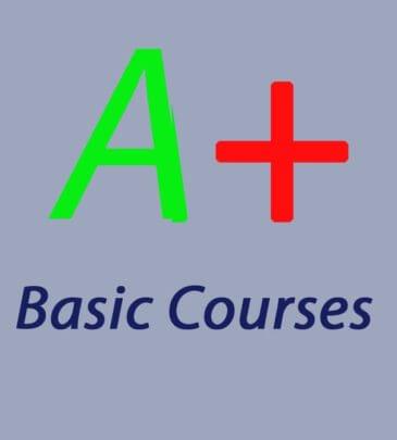 A+ Course Basic