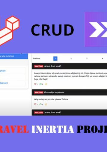 Laravel Inertia project (discussion forum)